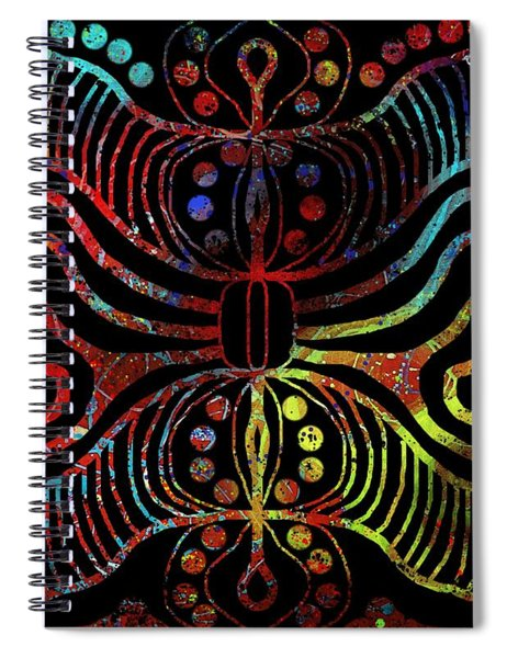 Under The Sea Digital Patterns Of Life Spiral Notebook