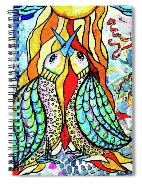 Under The Sun Spiral Notebook