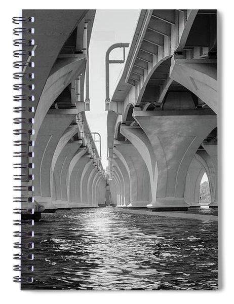 Under The Woodrow Wilson Bridge Spiral Notebook