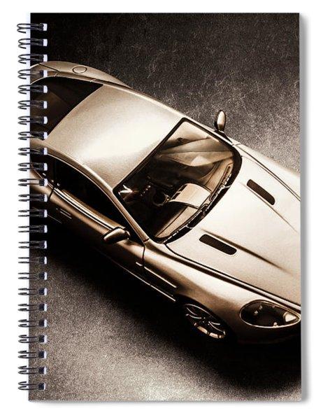 Underground Racer Spiral Notebook