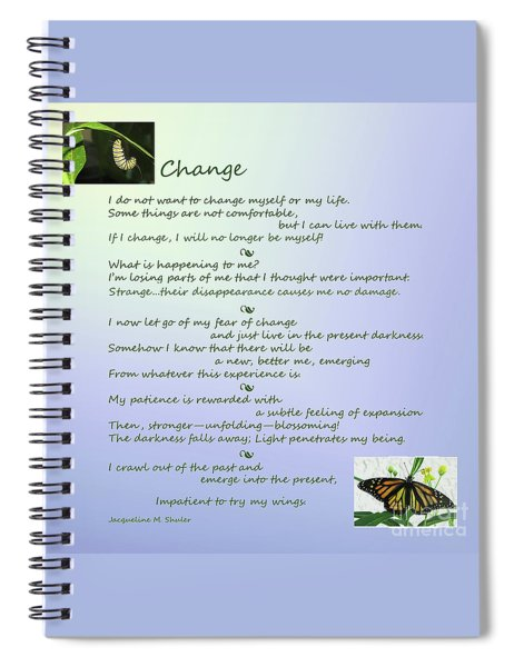 Unexpected Change Spiral Notebook