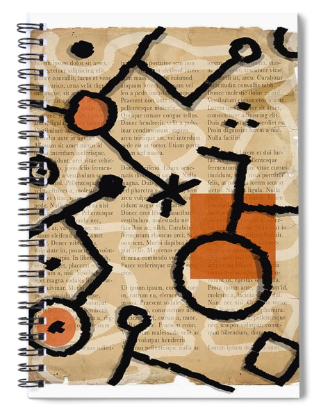 Unicycle Spiral Notebook