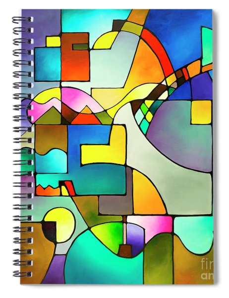 Unified Theory Spiral Notebook