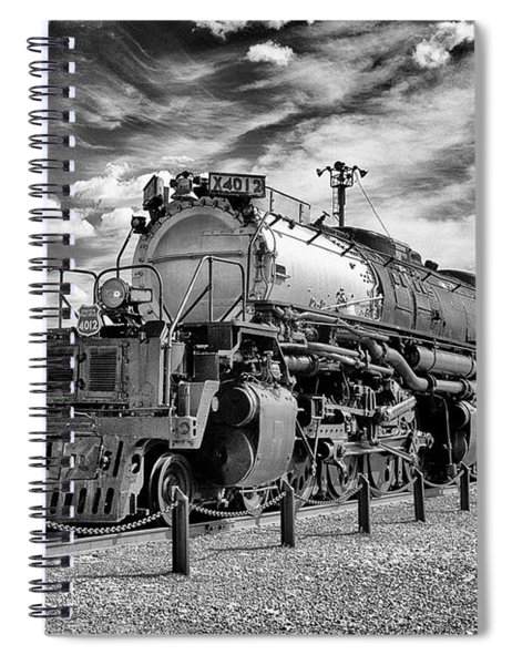 Union Pacific 4-8-8-4 Big Boy Spiral Notebook