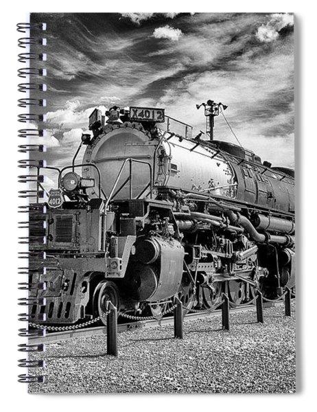 Union Pacific 4-8-8-4 Big Boy Spiral Notebook