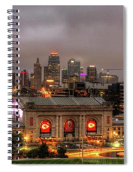 Union Station Sunrise 2 Kansas City Missouri Art  Spiral Notebook