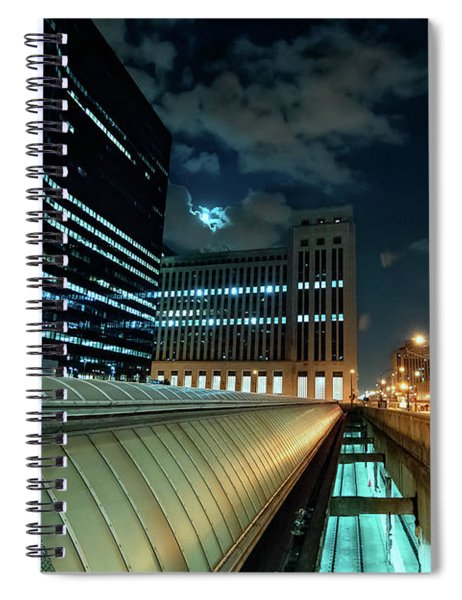 Union Station Train Vents Spiral Notebook