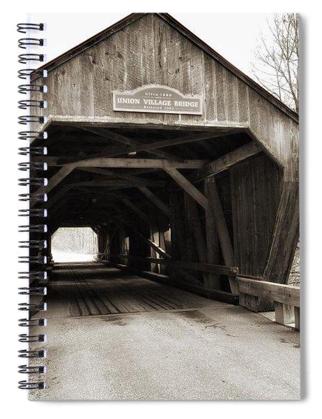 Union Village Covered Bridge Spiral Notebook