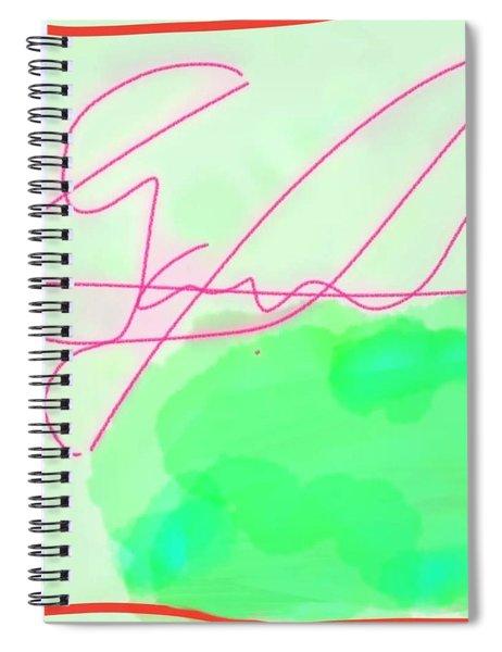 Unknown Signature Spiral Notebook