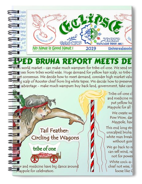 Unscalped Bruha Report Spiral Notebook
