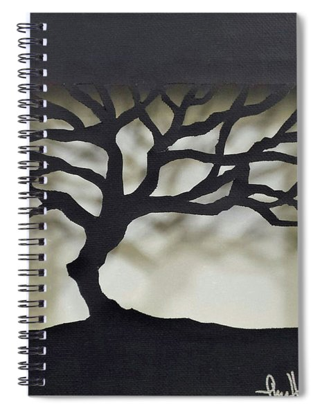 Until Leaves Fall Spiral Notebook