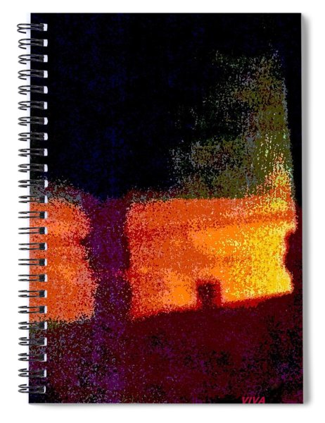 Untitled 1 - By The Window Spiral Notebook