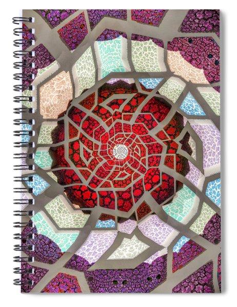 Untitled Meditation Spiral Notebook