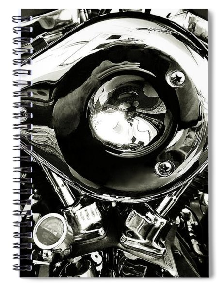 Up Close And Personal Spiral Notebook