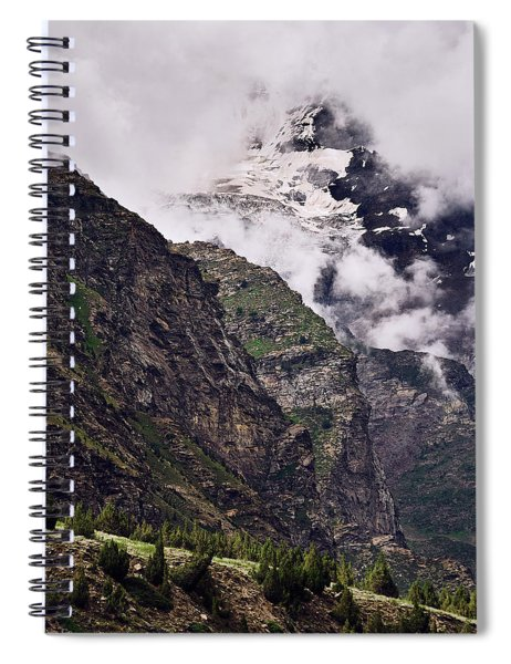 Up In The Clouds Spiral Notebook