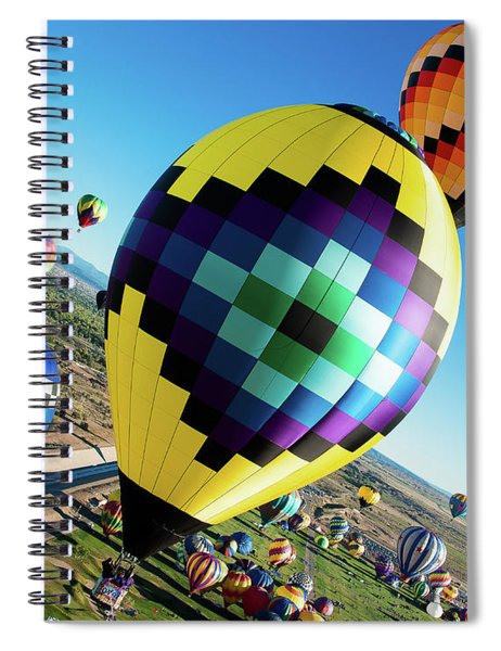 Up, Up, And Away Spiral Notebook