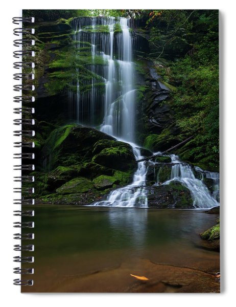 Upper Catawba Falls, North Carolina Spiral Notebook