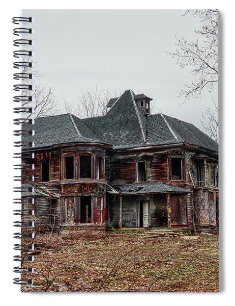 Urban Exploration Spiral Notebook