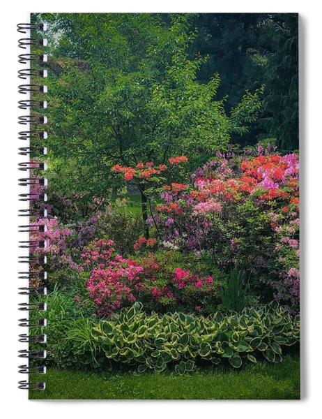 Urban Flower Garden Spiral Notebook