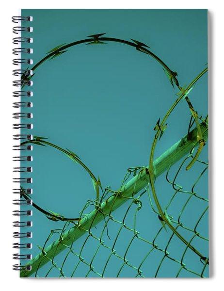 Urban Geometry Spiral Notebook