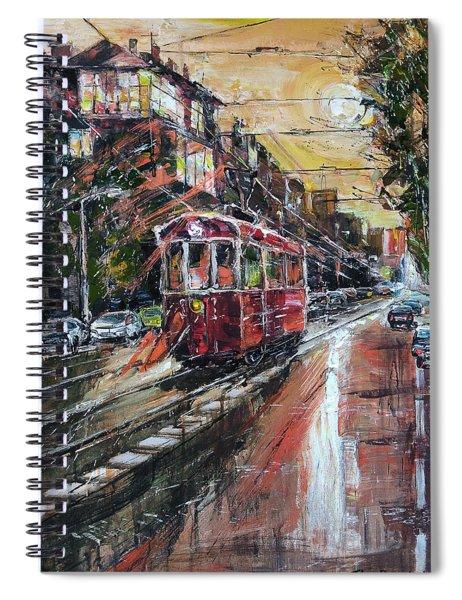 Urban Morning Iv Spiral Notebook
