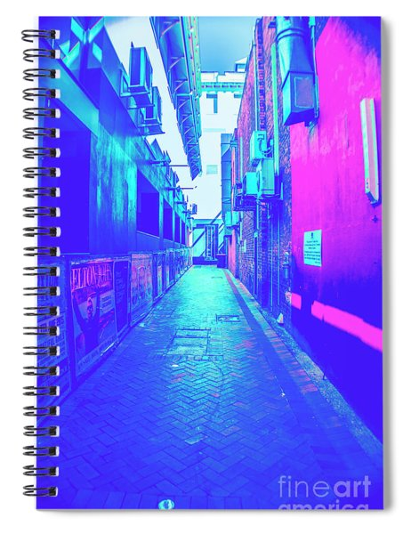 Urban Neon Spiral Notebook