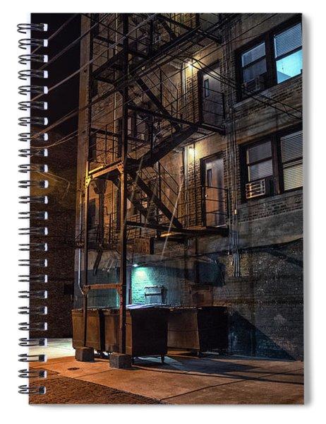 Urban Nights Spiral Notebook