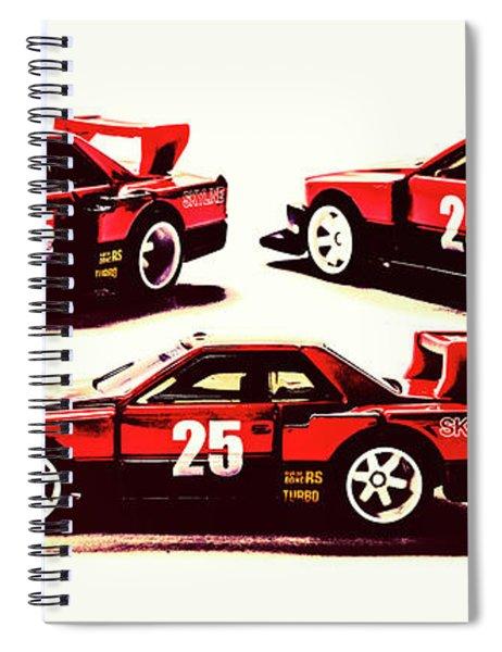 Urban Street Racer Spiral Notebook