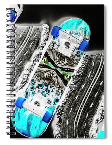 Urban Tracks Spiral Notebook
