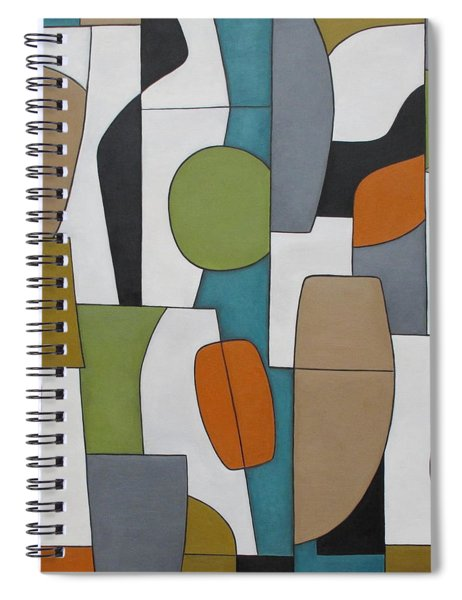 Utopia Spiral Notebook