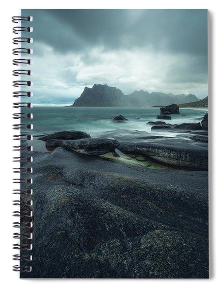 Uttakleiv Mood Spiral Notebook