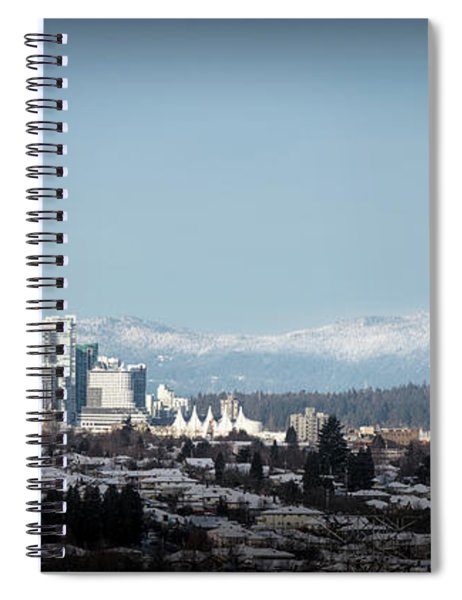 Vacouver Winter 1 Spiral Notebook