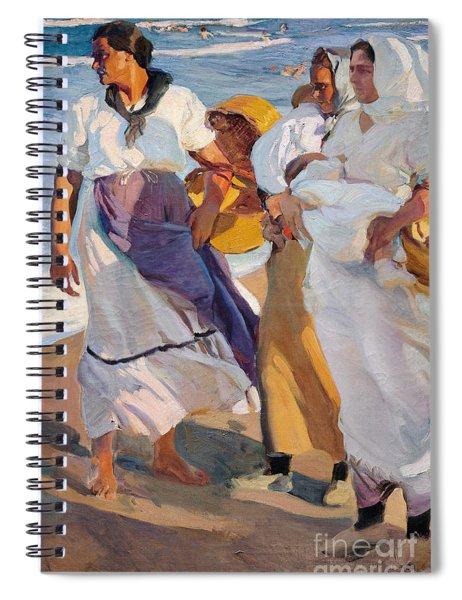 Valencian Fisherwomen, 1915 Spiral Notebook