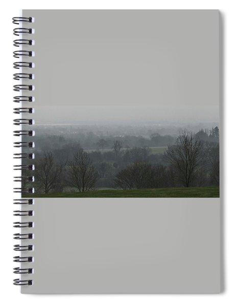 Valley Dawn  Spiral Notebook