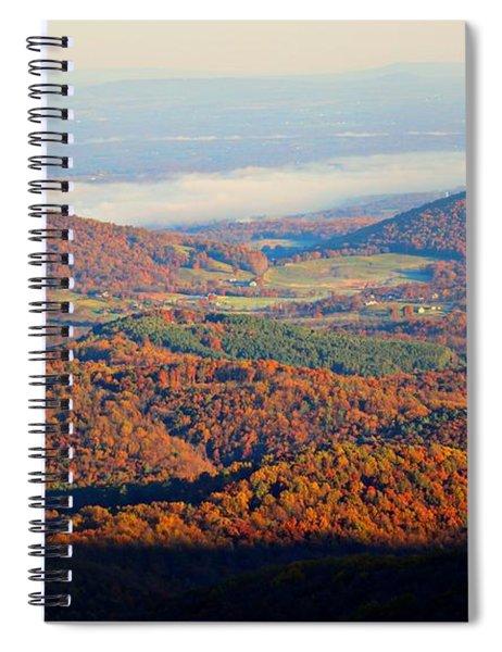 Valley View Spiral Notebook