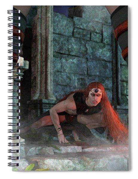 Vampire Hunter Spiral Notebook