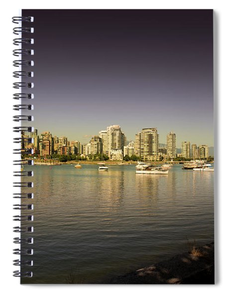 Vancouver In Magical Hours Spiral Notebook