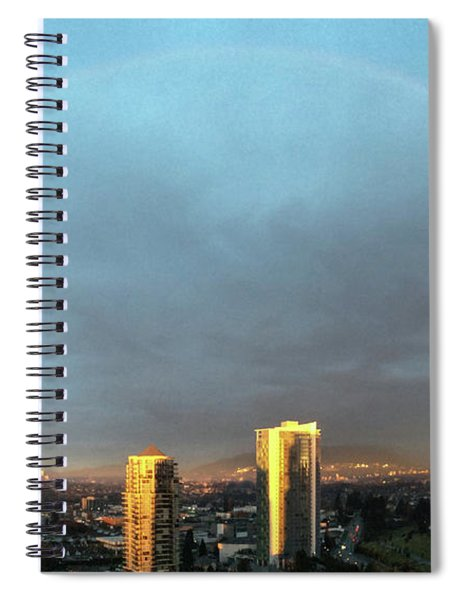 Vancouver Rainbow Spiral Notebook