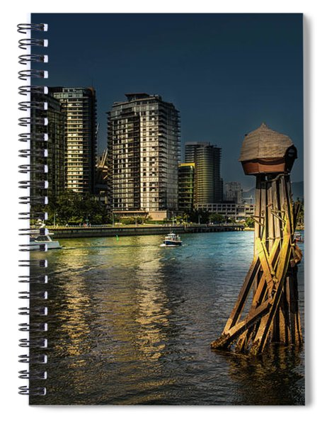Vancouver Sunset Spiral Notebook