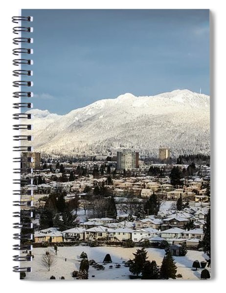 Vancouver Winterscape Spiral Notebook