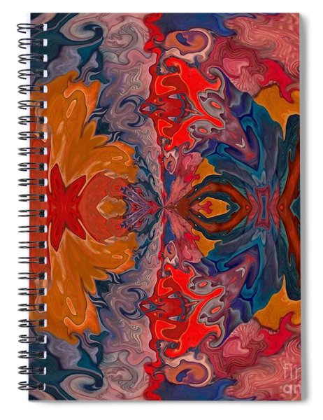 Spiral Notebook featuring the digital art Vanlove by A zakaria Mami