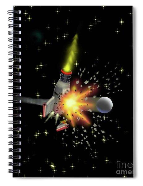 Varna Attacks Spiral Notebook
