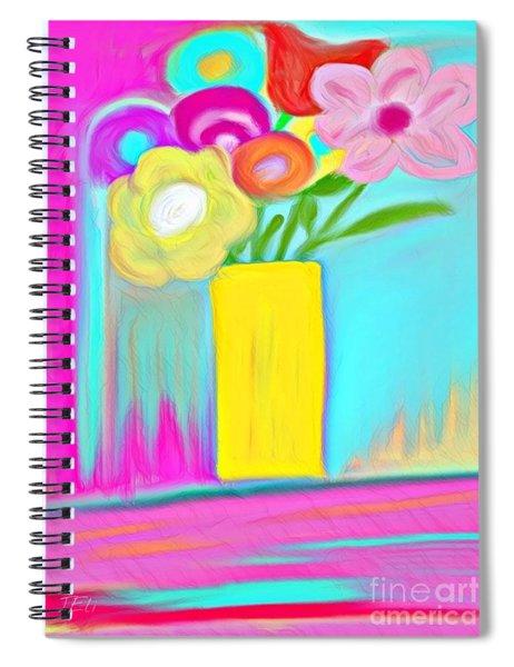 Vase Of Life Spiral Notebook