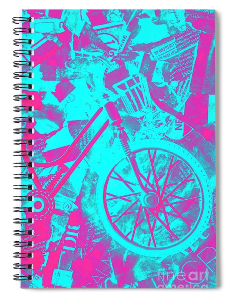 Vehicle Of News Spiral Notebook