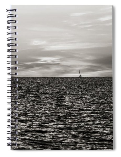 Vela Al Tramonto 07654 Spiral Notebook