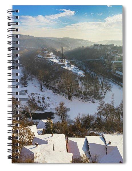 Veliko Turnovo City Spiral Notebook