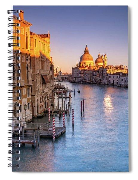 Venice Aglow Spiral Notebook