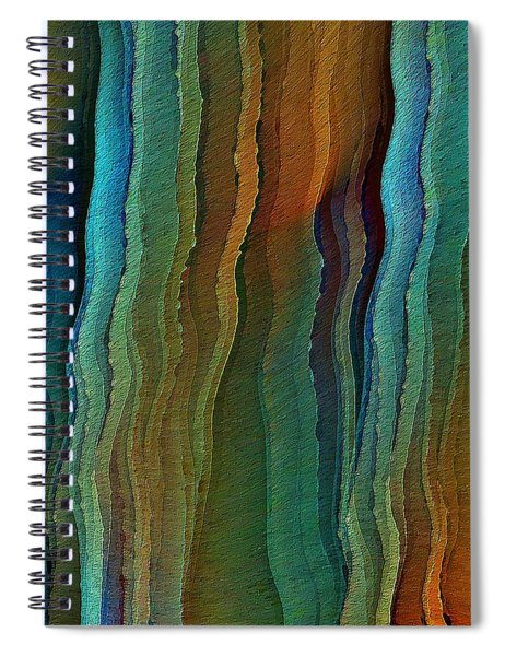 Vents Under The Sea Spiral Notebook