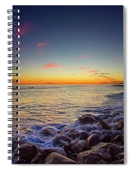 Ventura Sunset Spiral Notebook