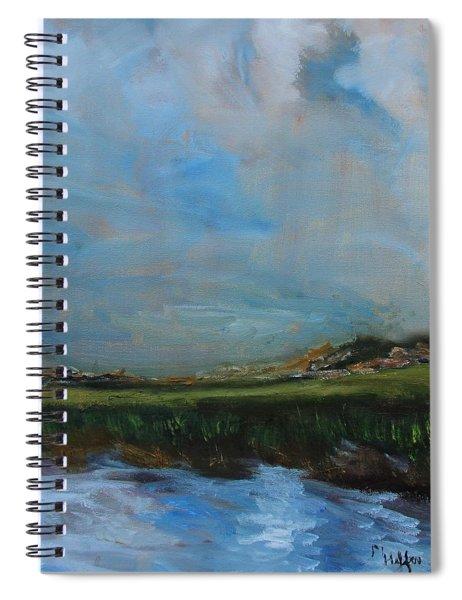 Verdant Marsh Spiral Notebook